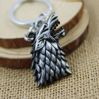 Game of Thrones Wolf Keychain