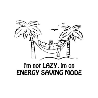 I'm not Lazy!