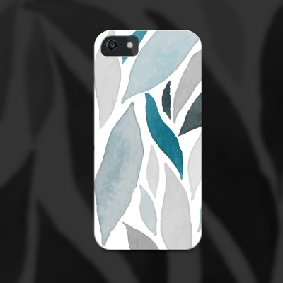 Watercolor Leaf Phone Cover