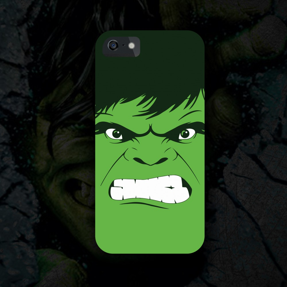 new concept 525c8 d8362 Hulk Phone Cover